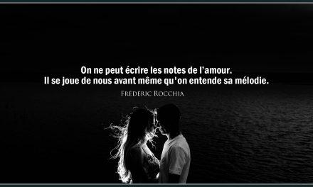 Citation «Amour»