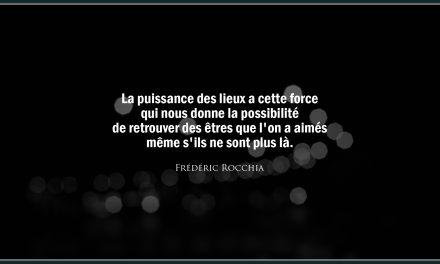 Citation «Lieux»