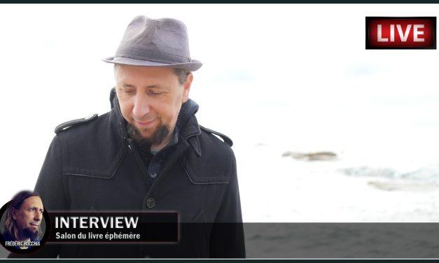 Interview du 16 novembre 2020 sur «Le salon du livre éphémère»