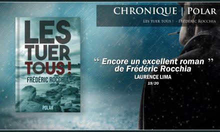 «Encore un excellent roman de Frédéric Rocchia!»