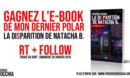Gagnez un e-book de La Disparition de Natacha B.